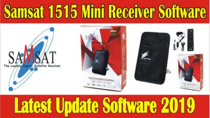 Samsat 1515 MINI Receiver Latest Software