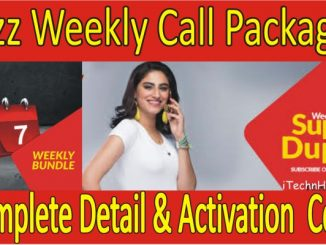 All Jazz Weekly Call Packages Detail & Activation Code