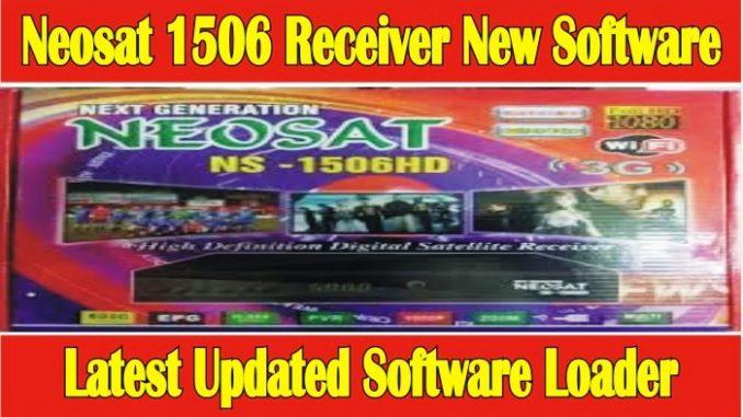 Neosat 1506 Receiver New Software