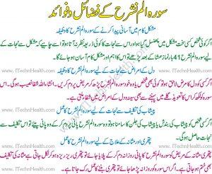 Surah Alam Nashrah Wazifa