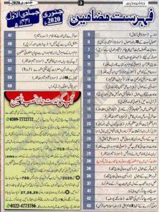 Khazina-E-Rohaniyaat January 2020 PDF Download