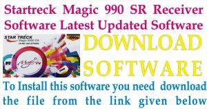 Startreck Magic 9990 SR Receiver New Software