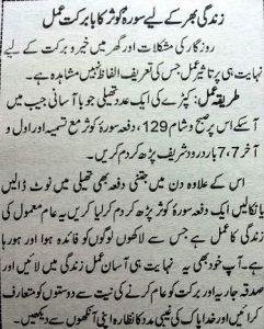Wazifa For Wealth in Urdu