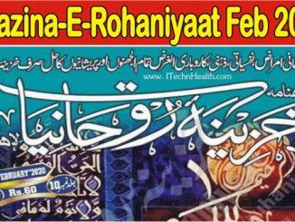 Khazina-E-Rohaniyaat February 2020 PDF Download