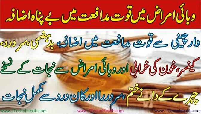 Dar Chini Khaen Quwat-E-Mudafiat Ko Barhany