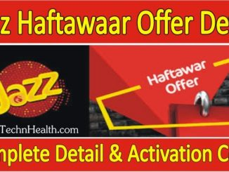 Jazz Haftawaar offer Subscribe Code