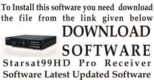 Latest Starsat 2000 HD Hyper Receiver New Software