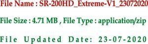 Starsat 200 Extreme Receiver Software