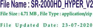 Starsat 2000 HD Hyper Receiver Software