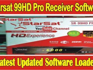 Starsat 99HD Pro Receiver Software Latest Update