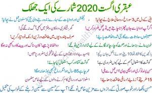 Ubqari Magazine August 2020 Article Online