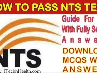 Guide For NTS With Solved Answers