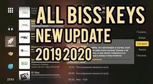 New Biss Key latest update