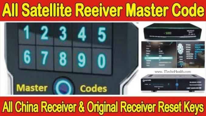 Receiver Master Password