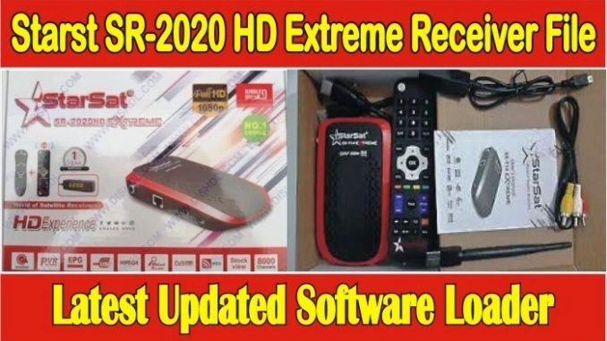 Starsat SR-2020HD Extreme Receiver Software 2020