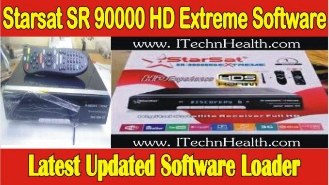 Starsat SR 90000 HD Extreme Software