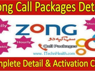 Zong Call Packages Hourly Daily Weekly Monthly