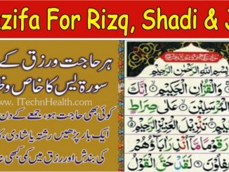 Surah Yaseen Wazifa for Rizq, Shadi, Love Marriage & Job