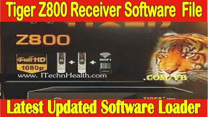 Tiger Z800 Software Loader File
