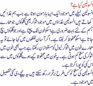 Best Insulin Resistance Diet In Urdu