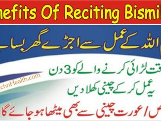 Reciting Bismillah 786 Times Wazifa