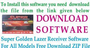 Latest New Super Golden Lazer Receiver Software