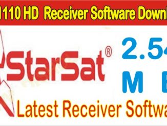SR-1110HD Receiver Software Free Download