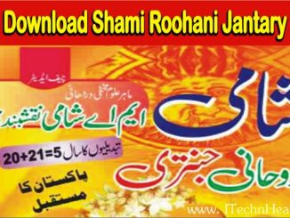 Shami Roohani Jantary 2021 PDF Free Download