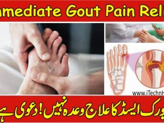 Gout Symptoms & Immediate Gout Pain Relief