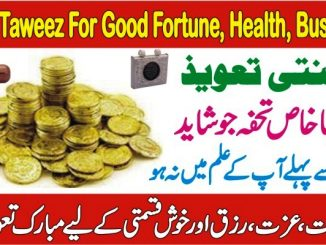 Janti Taweez For Good Fortune, Health, Rizk, Good luck, Good Business