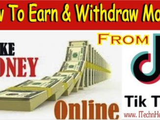 How To Earn And Withdraw Money From Tiktok Account