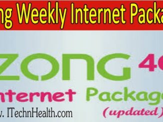 Zong Weekly Internet Package 2021