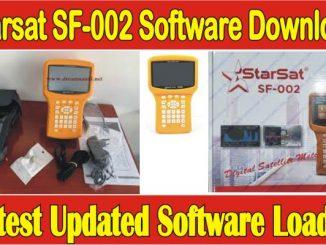 Starsat SF-002 Software Download 2021