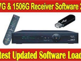 1507G & 1506G Receiver Software 2021