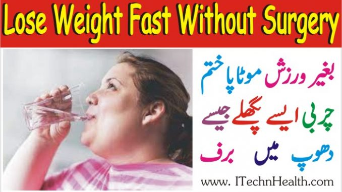 How To Lose Weight Fast Without Weight Loss Surgery