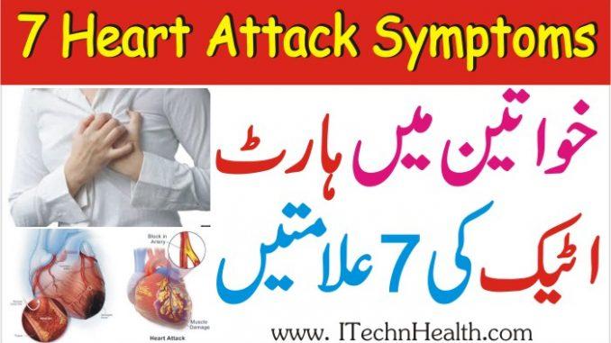 7 Heart Attack Symptoms In Women